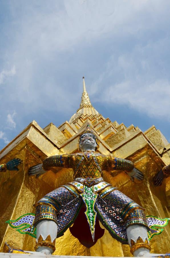 Wat Phra Kaew,Temple of the Emerald Buddha Phra Si Rattana Satsadaram stock photography