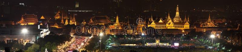 Wat Phra Kaew u. x28; Panorama& x29; stockfotos