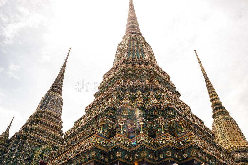Wat Phra Kaew imágenes de archivo libres de regalías