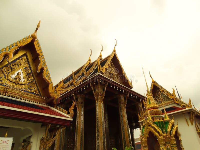 Wat Phra Keaw 免版税库存照片
