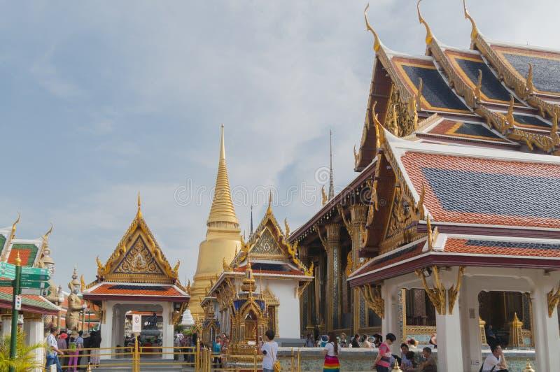 Wat Phra Keaw, Bangkok, Thaïlande photographie stock