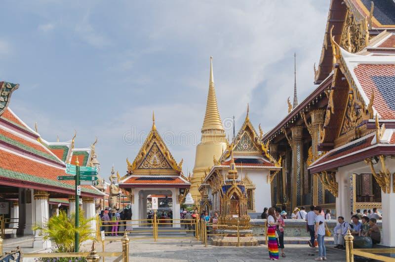 Wat Phra Keaw, Bangkok, Thaïlande image libre de droits