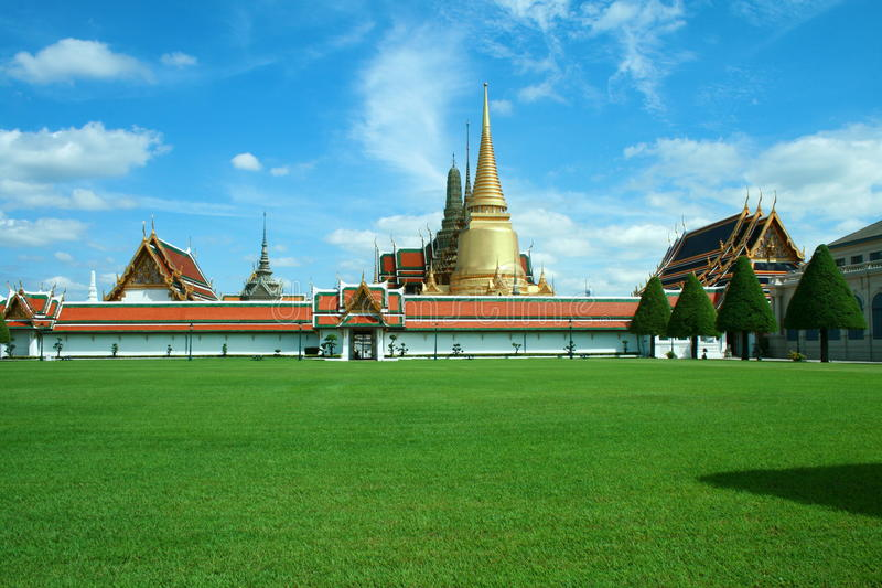 Wat Phra Keaw Bangkok Thailand stock foto