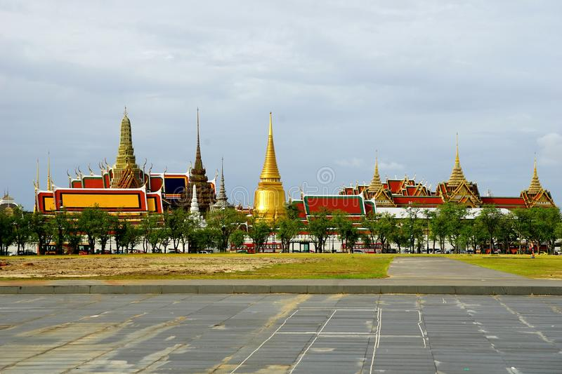 wat Phra Keaw stock photos