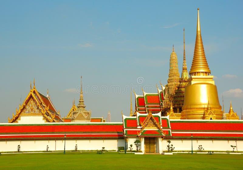 Wat phra keo bangkok royalty free stock image