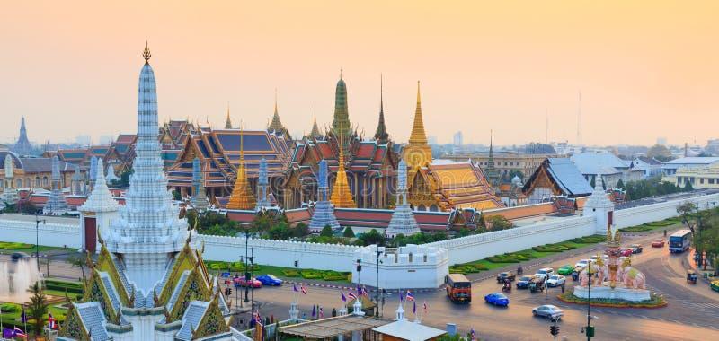 Wat Phra Keo Bangkok Tailandia imagen de archivo libre de regalías