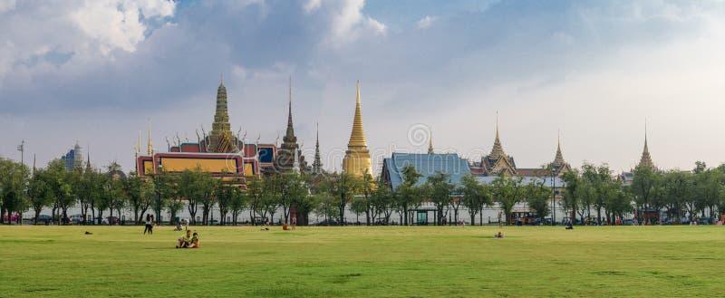 Wat Phra Keo Bangkok Thaïlande photographie stock libre de droits
