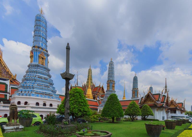 Wat Phra Keo Bangkok Thailand stock afbeeldingen