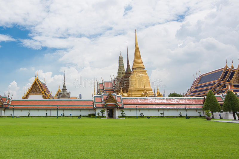 Wat Phra Keo Bangkok Thailand stockfotografie