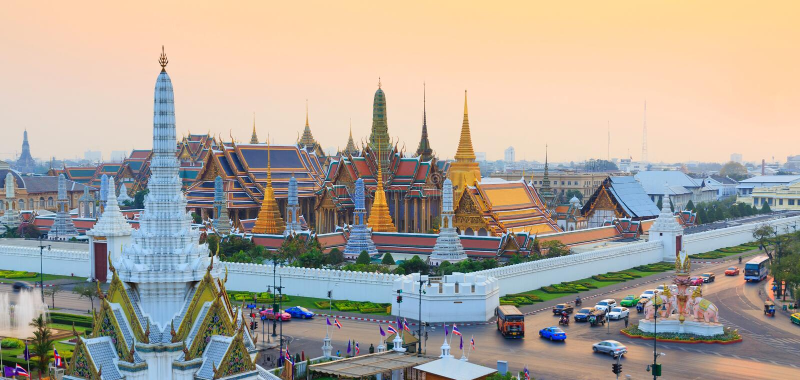 Wat Phra Keo Banguecoque Tailândia imagem de stock royalty free