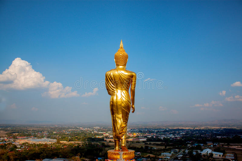Wat Phra Który budował podczas 25th Buddyjskich wieków Kao Noi fotografia royalty free