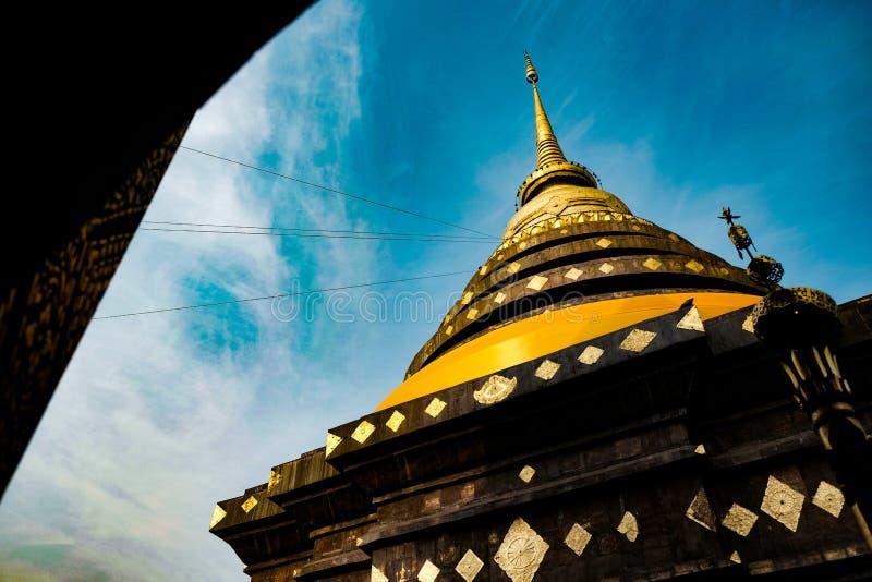 Wat Phra That Lampang Luang, Lampang, a nord della Tailandia fotografia stock libera da diritti