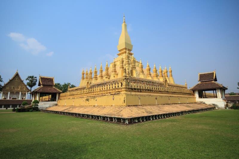 Wat Phra That Luang fotos de archivo