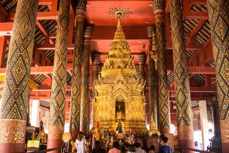 wat phra luang lampang Провинция Lampang, Таиланд стоковое изображение rf