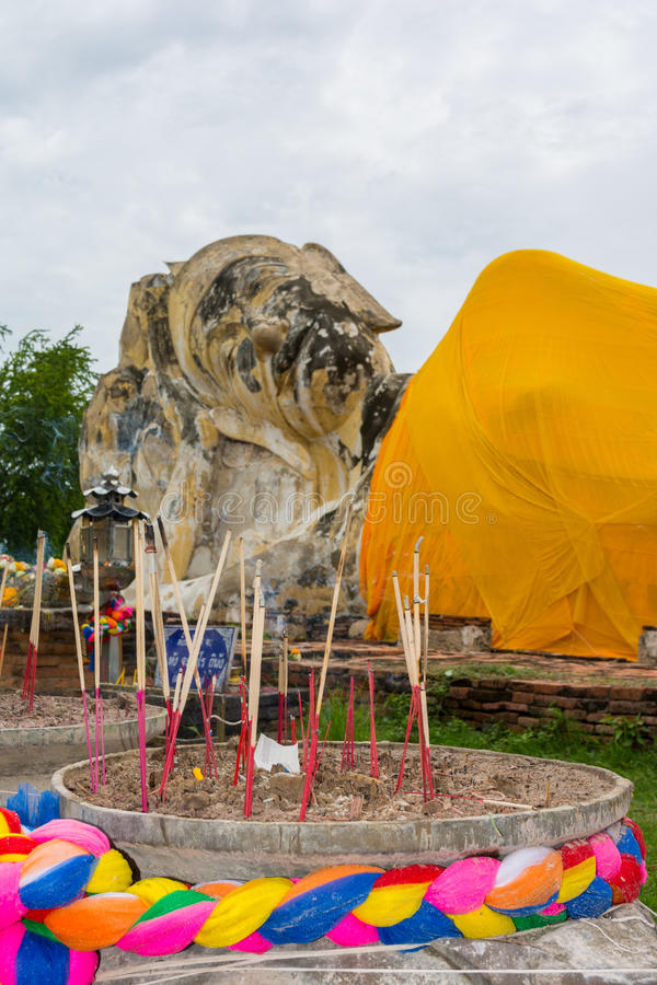 Wat Phra Mahathat stockfotografie
