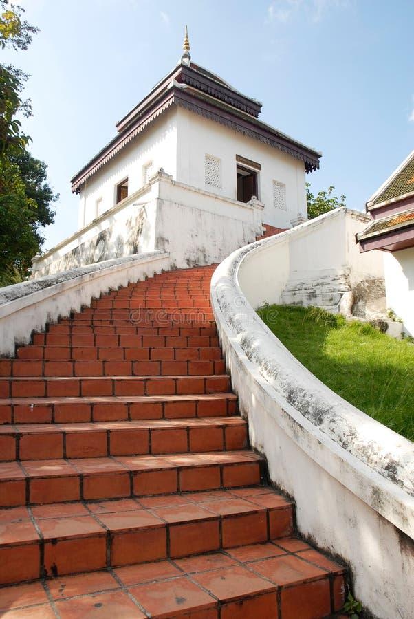 Wat Phra Mahathat, Nakhon Si Thammarat, Thailand stockfotografie