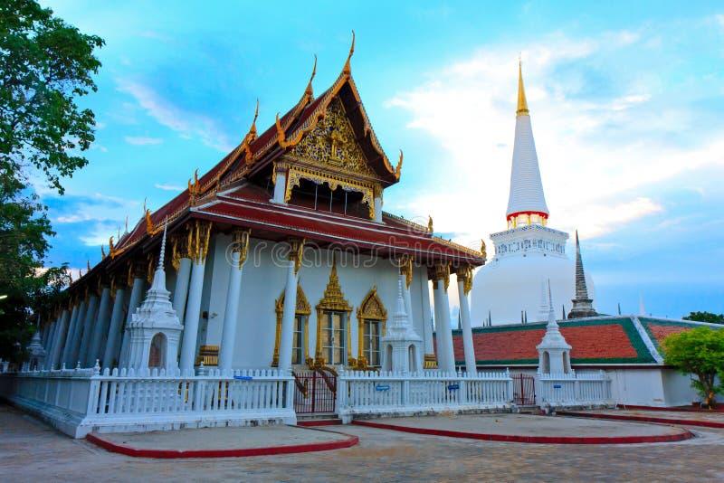 Wat Phra Mahathat Woramahawihan fotografia stock