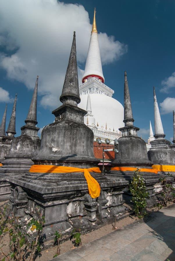 Wat Phra Mahathat Woramahawihan Nakorsrithammarat Thailand royalty-vrije stock foto's