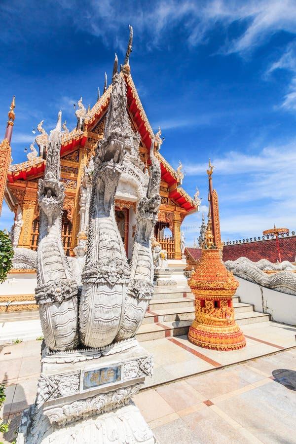 Wat Phra Mongkol Kiri, Tailandia foto de archivo libre de regalías