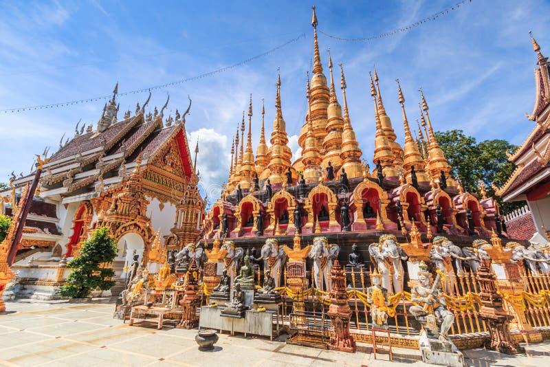 Wat Phra Mongkol Kiri, Tailandia fotos de archivo