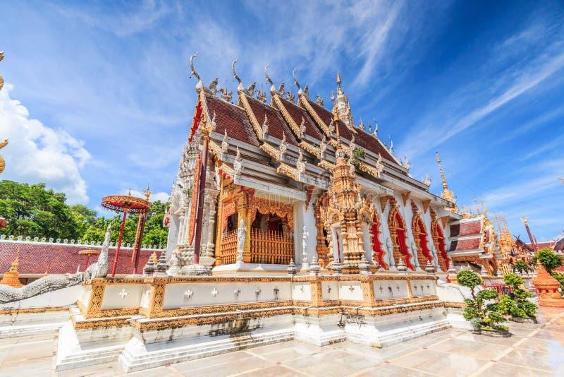 Wat Phra Mongkol Kiri, Tailandia fotografía de archivo