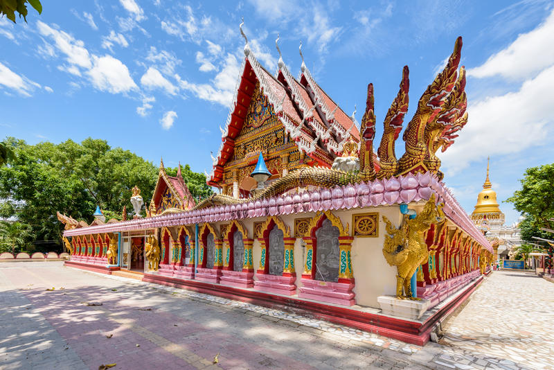 Wat Phra Nang Sang Temple. Attractions and place of worship in Phuket Province, Thailand royalty free stock image