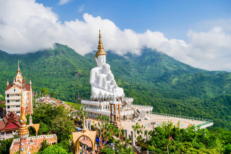Wat Phra Pha儿子Kaew,泰国 免版税库存照片