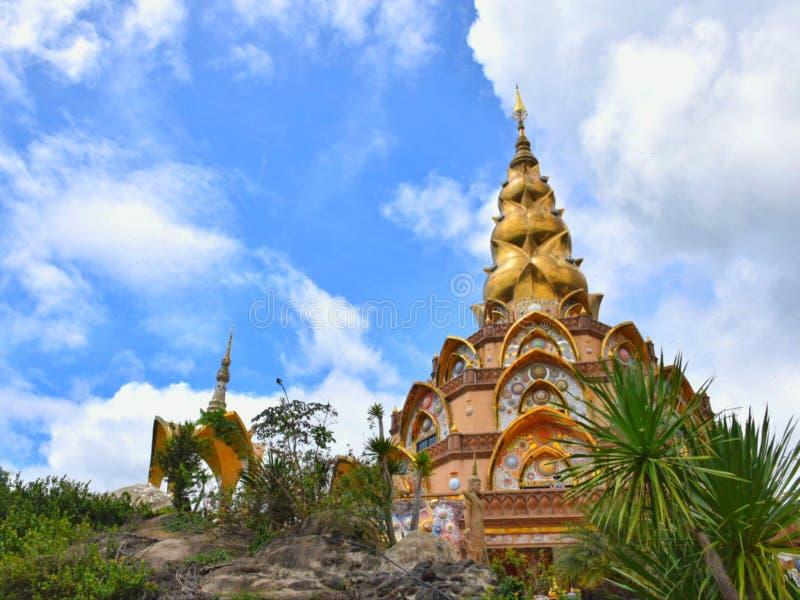 Wat Phra That Pha Son Kaew stock image