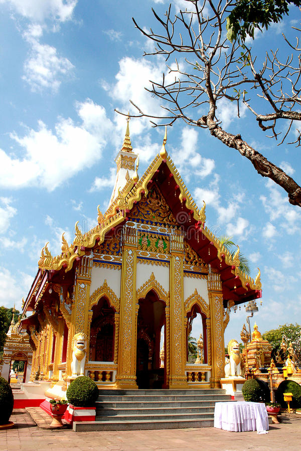 Wat Phra That Phanom arkivbild