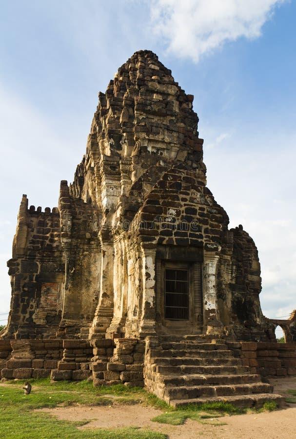 Wat Phra Prang Sam Yot imágenes de archivo libres de regalías
