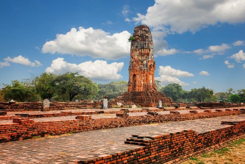 Download Wat Phra Ram Im Komplex Des Buddhistischen Tempels In Ayutthaya Nahe Bangkok Thailand Stockfoto - Bild von kunst, gebäude: 90237628