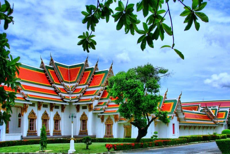 Wat Phra Si Mahathat轰隆Khen 库存照片