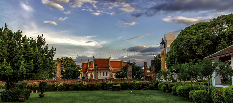 Wat Phra Si Rattana Mahathat Phitsanulok zdjęcia royalty free