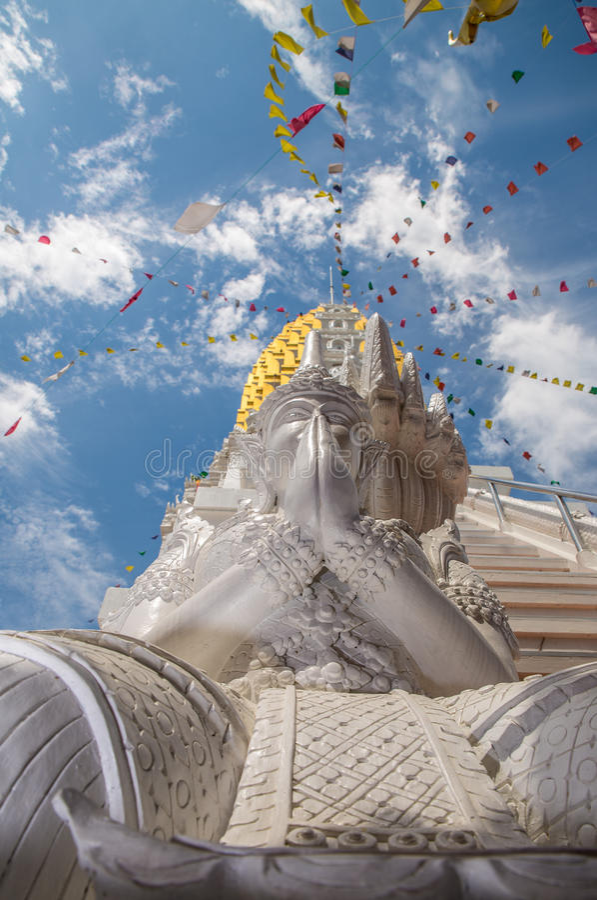 Wat Phra Si Rattana Mahathat Phitsanulok en Tailandia imagen de archivo