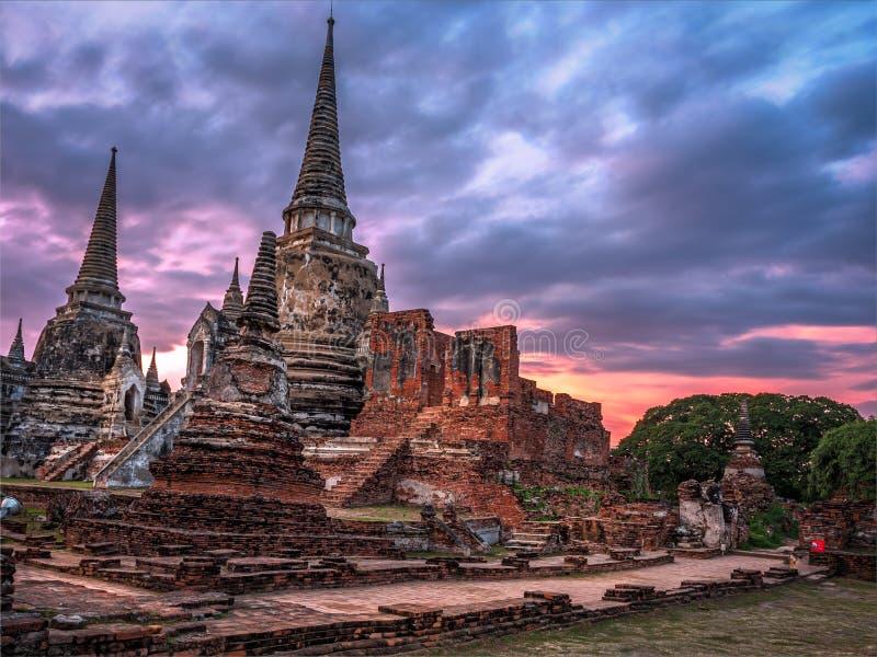 Wat Phra Si Sanphet foto de archivo