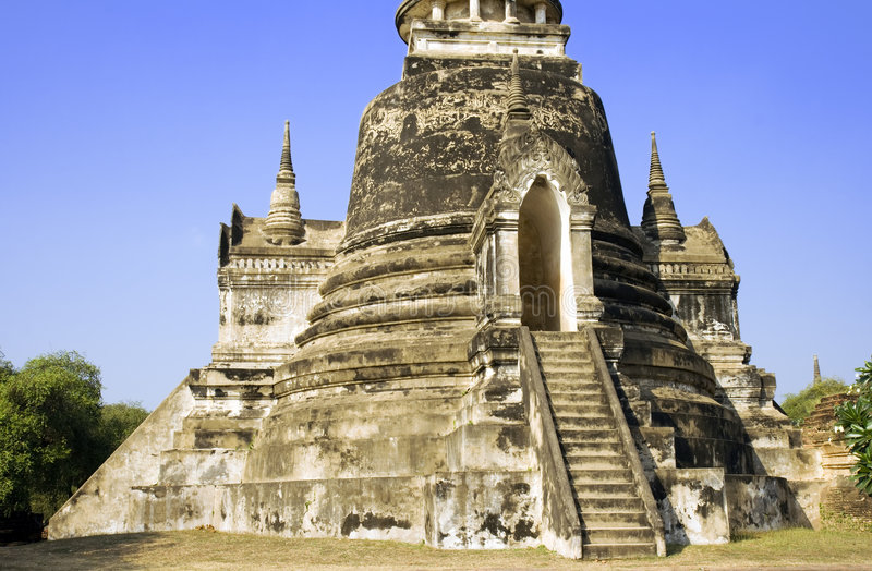 Wat Phra Si Sanphet stock photography
