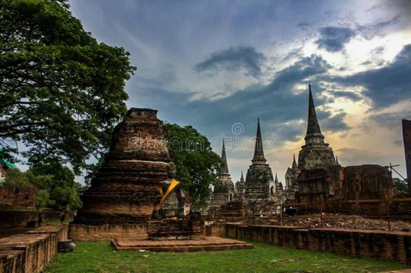 Wat Phra Si Sanphet stockfotos