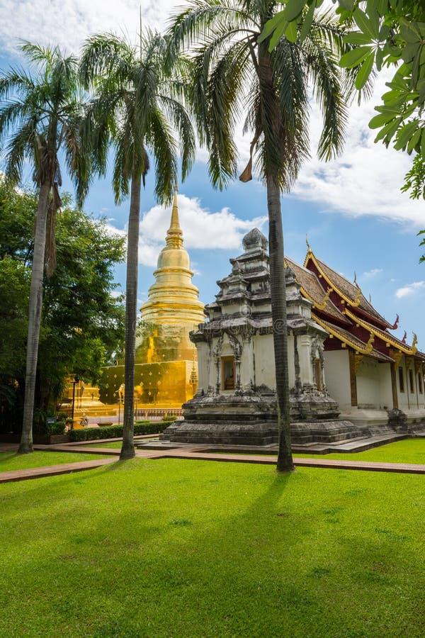 Wat Phra Sing stockbilder