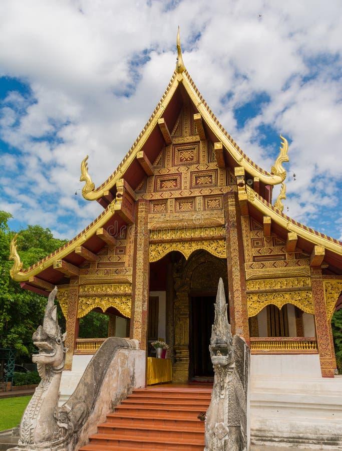 Wat Phra Sing stockfotos