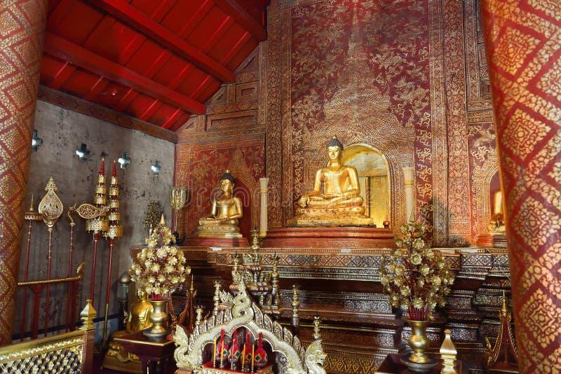 Wat Phra Sing royalty-vrije stock foto's