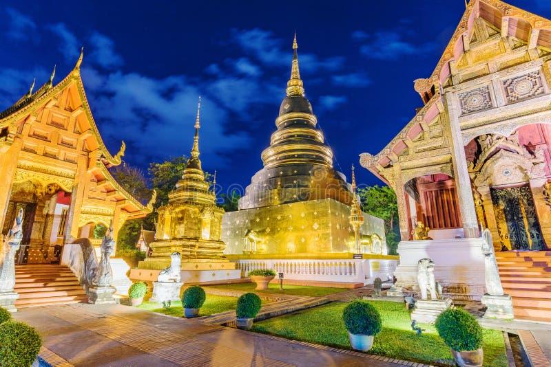 Wat Phra Sing-Tempel lizenzfreie stockfotos