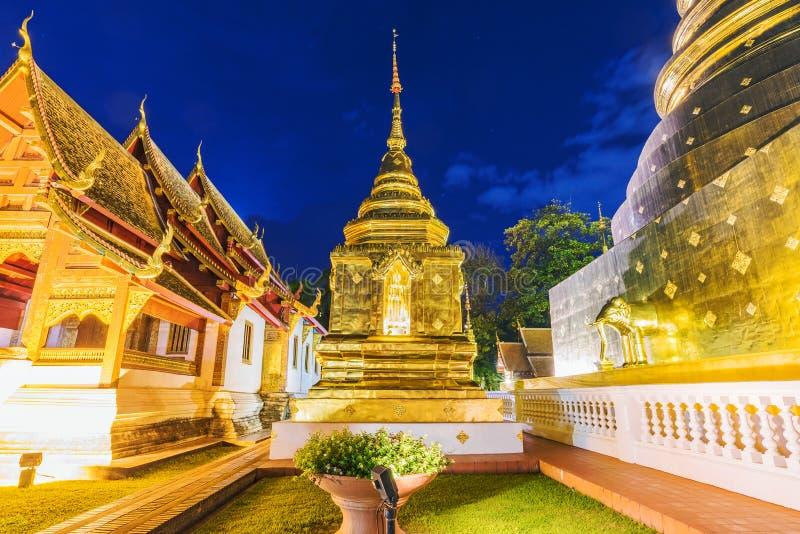 Wat Phra Sing-Tempel lizenzfreie stockfotografie