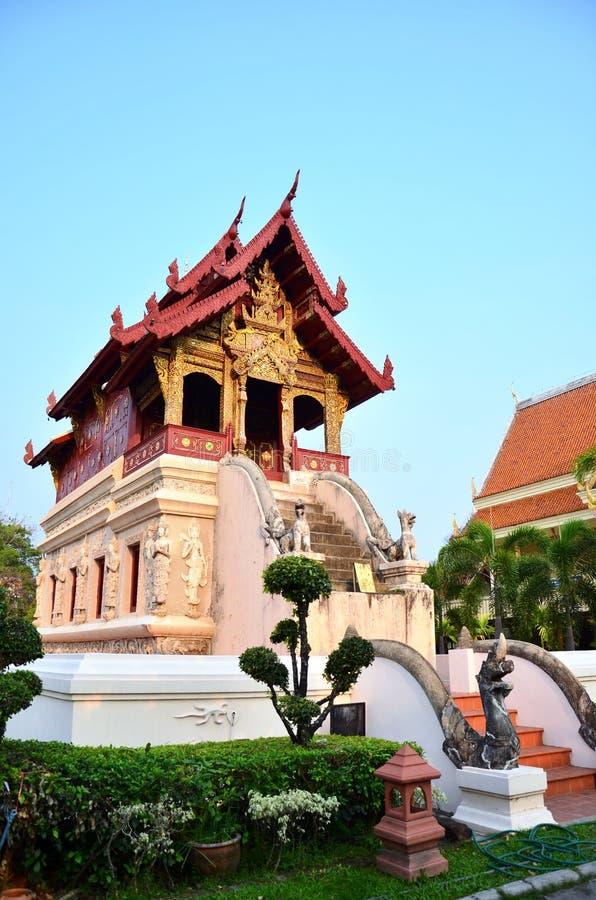 Wat Phra Sing Waramahavihan a Chiang Mai Thailand immagini stock