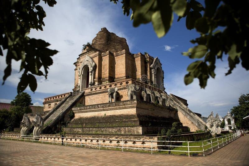Wat Phra Singh imagens de stock
