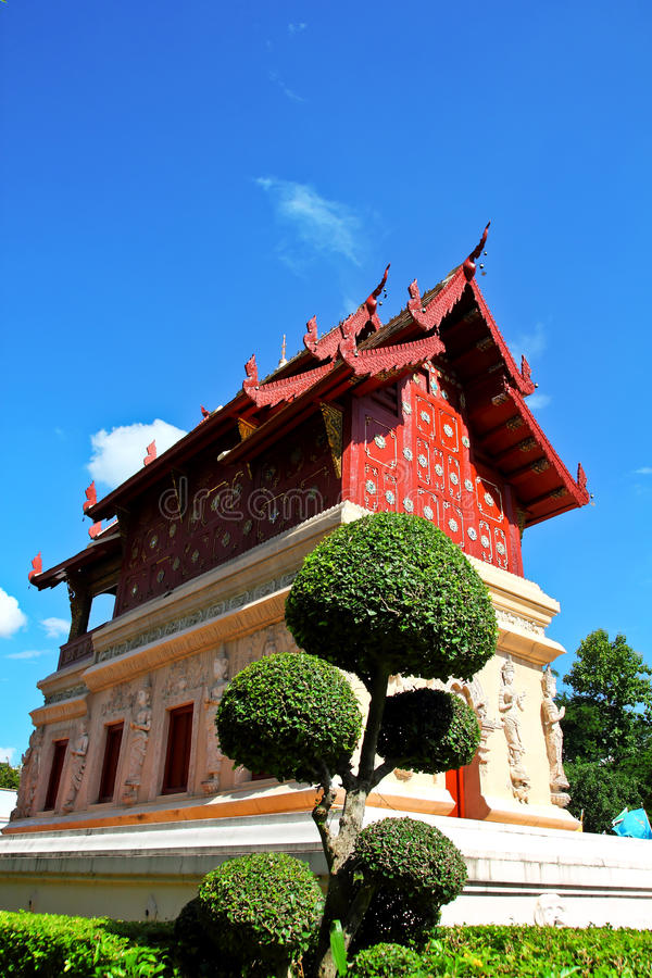 Wat phra singh 库存照片