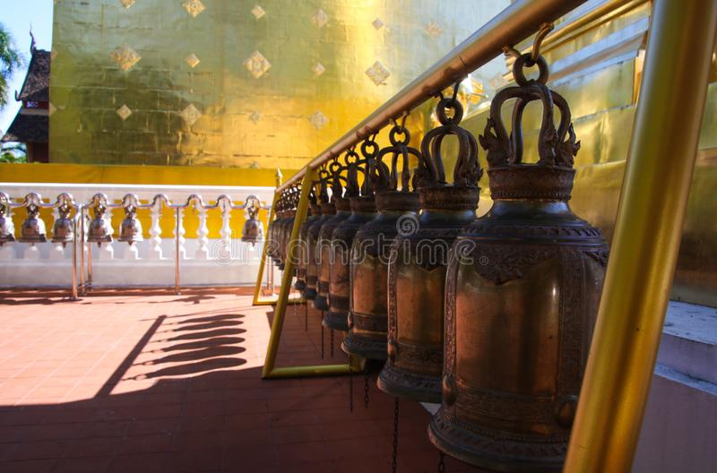 Wat Phra Singh Temple Chiang Mai Thailand royalty-vrije stock foto