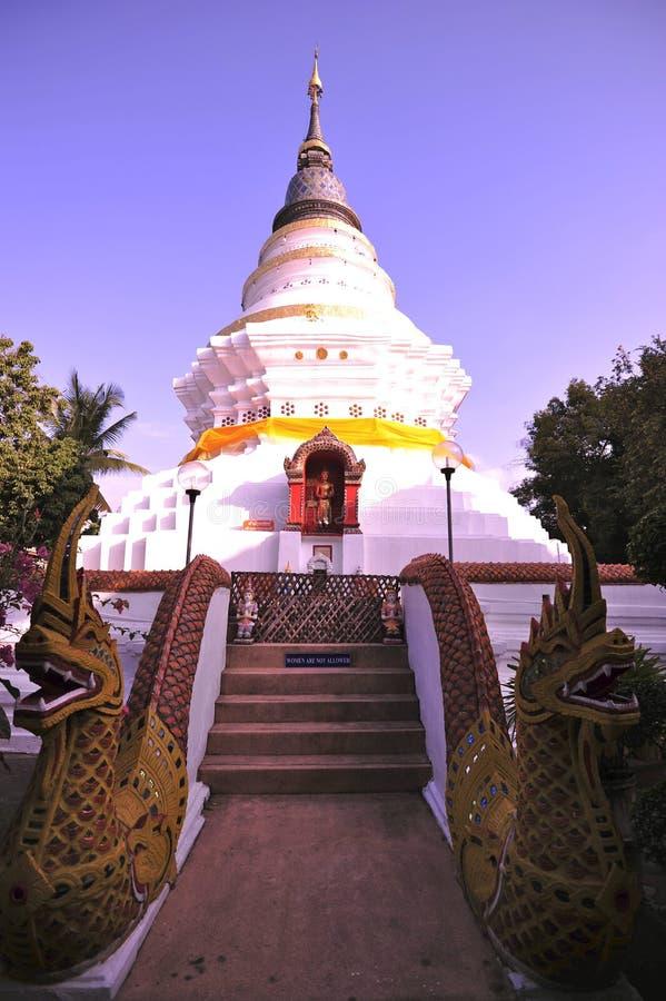 Wat Phra Singh Woramahaviharn Royalty Free Stock Images
