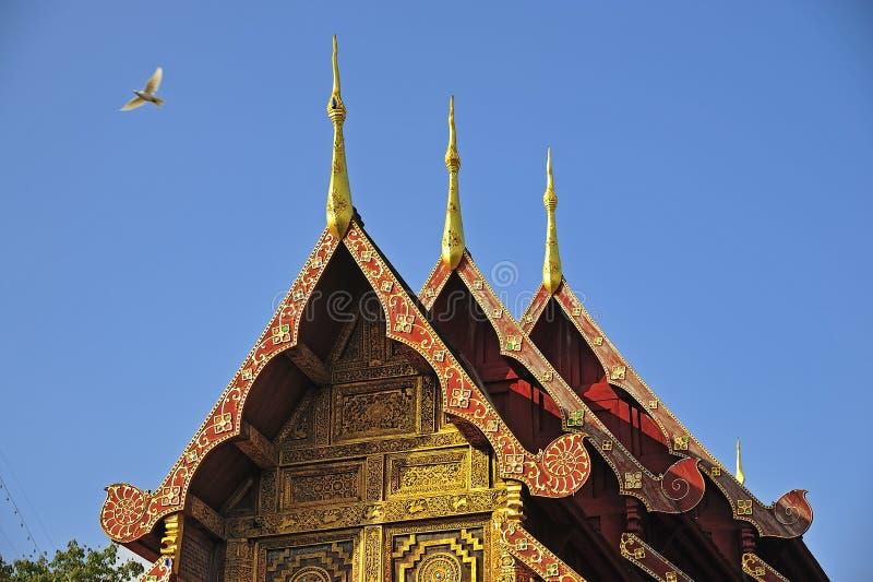 Download Wat Phra Singha, Thai Lanna Temple At Chiangmai Province Thailan Stock Photo - Image: 28898524