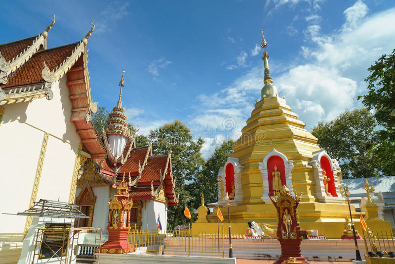 Wat Phra That Sob Fang imagens de stock