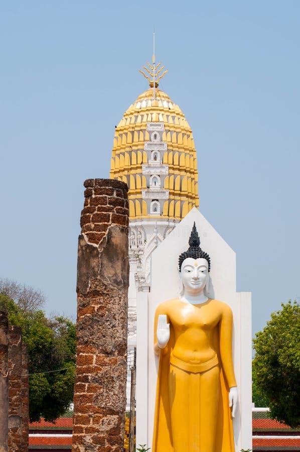 Wat Phra Sri Rattana Mahatat Woramahawihan fotografie stock libere da diritti